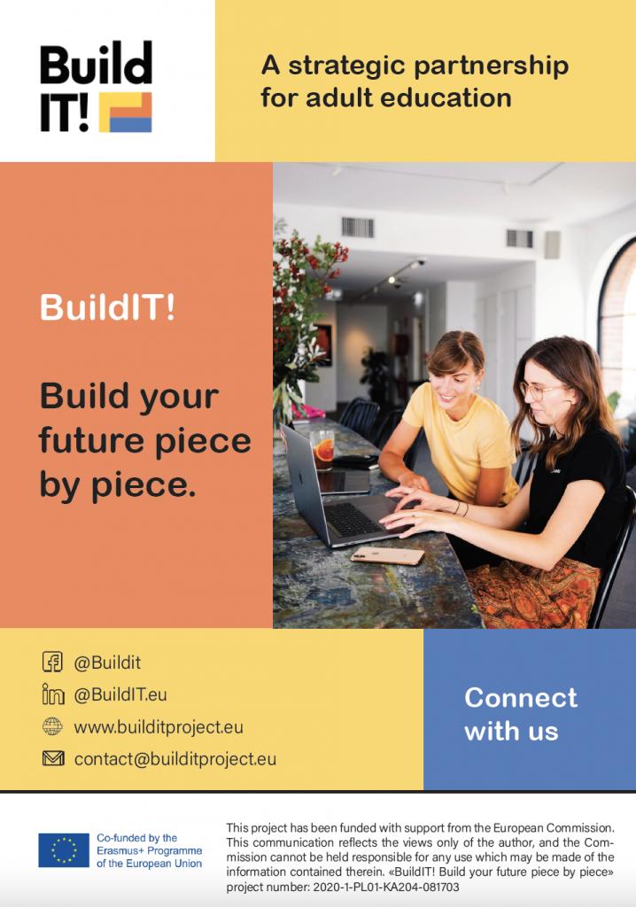 Cover BuildIT! leaflet